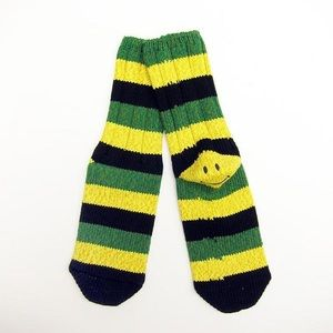 KAPITAL Smiley Striped Socks